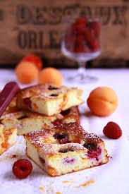 cuisine brousse gâteau à la brousse aux abricots et aux framboises cuisine cagne