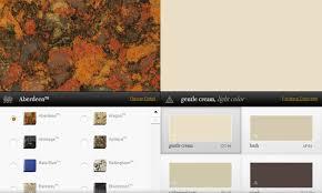 matching interior paint colors with quartz counter tops interior