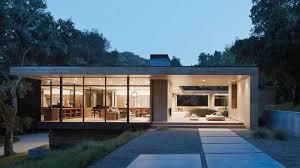 textured front facade modern box home houses abduzeedo
