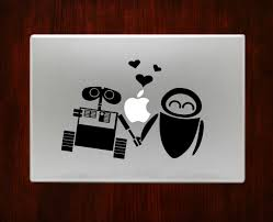 107 best unique decals images on pinterest sticker vinyl apple wall e and eve decal stickers for sale macbook pro air 11 13 15 17 inch macbook laptop available in all macbook sizes easy application in high