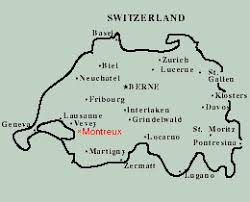 map of montreux montreux hotels switzerland best rates and reservation for