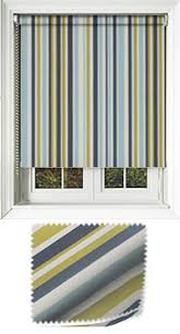 Blue And White Striped Blinds Striped Roller Blinds Pinstripe Bold U0026 Funky Stripes