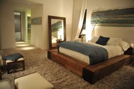 Wood Platform Bed 10 Platform Beds A Modern And Solution In The Bedroom