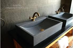 stone bathroom vanities wbasins caesarstone bathroom vanities