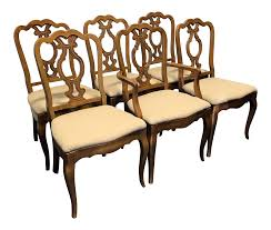 vintage thomasville mid century era french country style dining