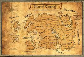 Ancient Map Ancient Map Of Tamriel By Andrewscrolls On Deviantart