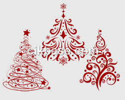 3 exquisite christmas tree photoshop psd brushes abr file free