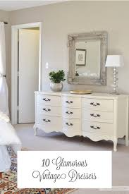 Glam Home Decor by 12 Ultra Glamorous Vintage Dressers For Your Home