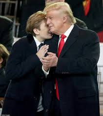 Watch The People Under The Stairs Online barron plays peekaboo with ivanka u0027s baby at capitol daily mail