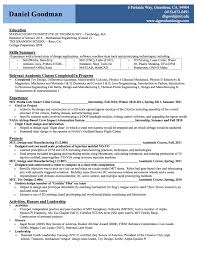 Introduction To A Resume Contact Information On A Resume Free Resume Example And Writing