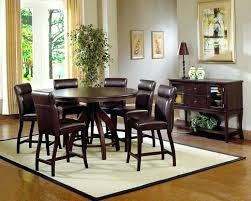 round counter height table set 7 piece round dining set best dining room sets images on counter