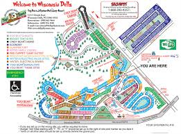 Maps Of Wisconsin by Resort Map Jellystone Park Campsites Campgrounds Wisc Dells