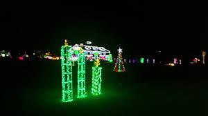 christmas lights train ride yukon oklahoma christmas in the park train ride youtube