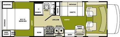 Motorhome Floor Plans 2005 Forest River Sunseeker Class C Rvweb Com