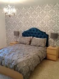 Custom Made Fabric Headboards by Linen Upholstered Headboard King Size Bedroom Pinterest