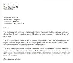 letters format sample sample personal business letter 9 documents in pdf word