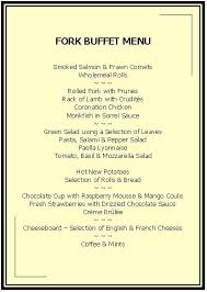 Buffet Menu For Wedding by Caterers Buckinghamshire Cuisine Excellence Weddings Oxford