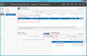 Create Storage Space With A Can I Setup A Software Raid In Windows Server 2012 R2 Using
