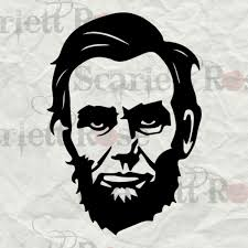 pumpkin face svg president abraham lincoln face svg svg cutting files for cricut