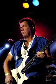John Wetton playing bass live.