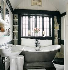 black white and silver bathroom ideas black and white bathrooms black and white bathrooms homes gallery