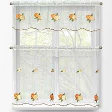 Sheer Embroidered Curtains White Sheer Curtains U0026 Drapes Window Treatments The Home Depot