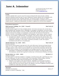 Secretary Sample Resume by Sample Executive Assistant Resume Example 6 Ilivearticles Info