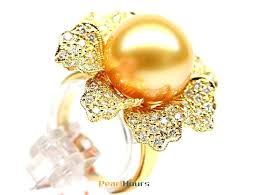 golden pearl rings images Diamond and pearl rings golden pearl diamond ring jext jpg