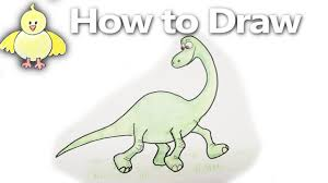 how to draw arlo step by step the good dinosaur drawing