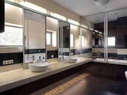 Illuminated Bathroom Wall Mirror - bathroom wood framed mirrors backlit bathroom vanity mirror wood