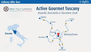 Map Of Tuscany Italy Bike U0026 Culinary Tour In Tuscany Private Cycling Holidays
