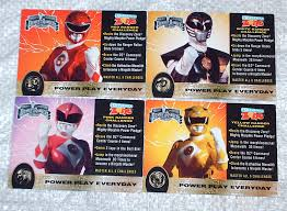mighty morphin power rangers dz cards mighty morphin power u2026 flickr