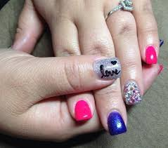 424 best valentines day nail art images on pinterest valentines