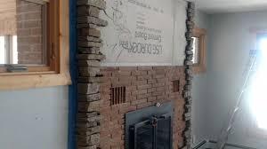 starting ledge stone over brick youtube