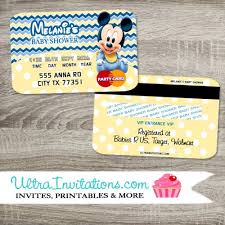 mickey mouse baby shower invitations baby mickey baby shower invitations cc baby blue boy