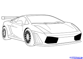 kid car drawing how to draw a lamborghini step by step cars draw cars online