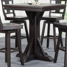 zipcode design lucai 36 pub table steve silver tiffany square bar height table from hayneedle com