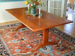 Cherry Dining Table Cherry Dining Table Trestle Table