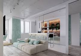 unique apartment design applied with charming style decor and