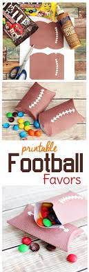 football party favors free printable football party favor boxes sweet t makes three