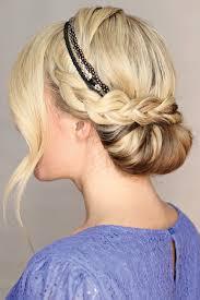 Frisuren Selber Machen Haarband by Die Besten 25 Haarband Frisur Ideen Auf Schicker