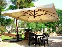 Patio Set With Umbrella by Broyerk 6 Piece Beige Outdoor Rattan Patio Furniture Set Patio