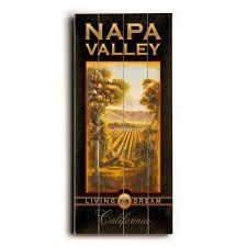 napa valley california wood wall decor by steffen free