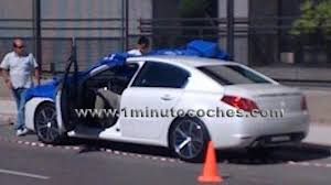 peugeot spain peugeot 508 spied uncovered during photoshoot