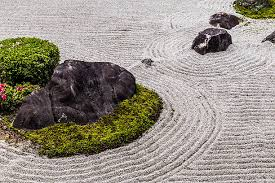 japanese rock garden pictures images and stock photos istock