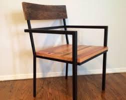 Reclaimed Dining Chairs Custom Handmade Reclaimed Wood Furniture By Kagedesignstudio