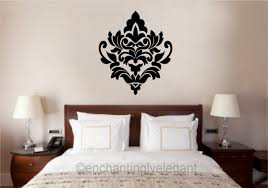 stunning kids room wall stickers ideas also big decals for bedroom gallery of damask pattern wall decal stickers large inspirations with big decals for bedroom images