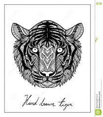 Coffee Cup Design by Unique Hand Drawn Tiger For T Shirt Design Mug Design Coffee Cup