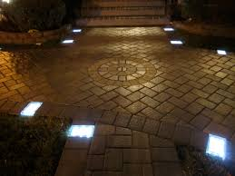 Patio Paver Lights Solar Led Paver Light Project In Ny And Installation Tips