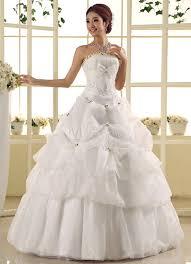 robe de mari e magnifique robe mariée magnifique boule en tulle avec perles modèle bustier